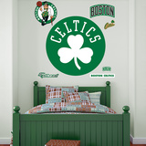 Boston Celtics Shamrock Logo Wall Decal