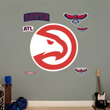Atlanta Hawks Alternate Logo Wall Decal