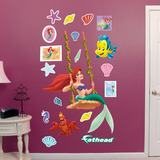 Ariel - Swinging Wall Decal