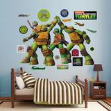 TMNT - High Five Wall Decal