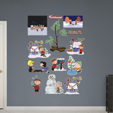 Peanuts Christmas Collection Wall Decal