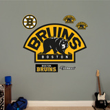 Boston Bruins Alternate Logo Wall Decal
