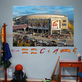 Cleveland Cavaliers Arena Mural - Outside The Q Wall Mural