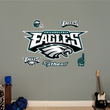 Philadelphia Eagles Alternate Logo Wall Decal