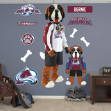 Colorado Avalanche Mascot - Bernie Wall Decal