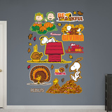 Peanuts Thanksgiving Collection Wall Decal