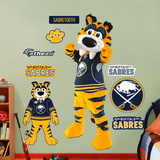 Buffalo Sabres Mascot - Sabertooth Wall Decal