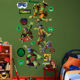 Teenage Mutant Ninja Turtles - Skateboarding Collection Wall Decal
