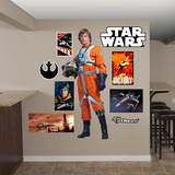 Star Wars Luke Skywalker Pilot RealBig Wall Decal