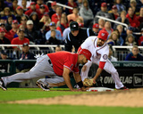 Los Angeles Angels of Anaheim v Washington Nationals Photo af Rob  Carr