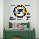 St. Louis Blues Alternate Logo Wall Decal