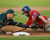 Washington Nationals v Oakland Athletics Photo by Thearon W Henderson