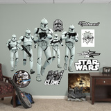 Star Wars Clone Troopers Attack RealBig Wall Decal