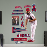 Matt Shoemaker Wall Decal
