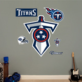 Tennessee Titans Sword Logo Wall Decal