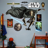 Star Wars General Grievous RealBig Wall Decal