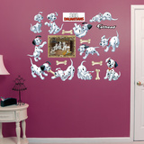 101 Dalmatians Puppy Collection Wall Decal