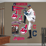 Corey Kluber Wall Decal