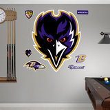 Baltimore Ravens Alternate Logo Wall Decal