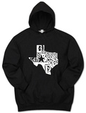 Hoodie: Everything Is Bigger In Texas Pullover Hoodie