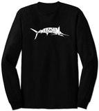 Long Sleeve: Marlin - Gone Fishing T-Shirts