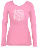 Women's Long Sleeve: Stops Along Route 66 T-shirts