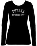 Womens Long Sleeve: Queens Langärmelige T-Shirts für Damen