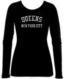 Women's Long Sleeve: Queens T-shirts