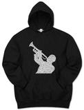 Hoodie: Jazz Pullover Hoodie