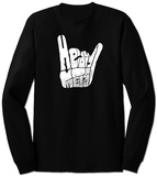 Long Sleeve: Heavy Metal T-Shirt