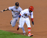 NLCS - San Francisco Giants v St Louis Cardinals - Game Two Photo by Michael Thomas