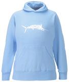 Women's Hoodie: Marlin - Gone Fishing Pullover Hoodie