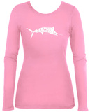 Women's Long Sleeve: Marlin - Gone Fishing T-Shirt