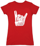 Womans: Heavy Metal T-shirts