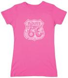 Womans: Route 66 Pics T-skjorter