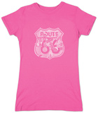 Womens: Route 66 Pics T-shirts