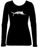 Womens Long Sleeve: Marlin - Gone Fishing Womens Long Sleeves