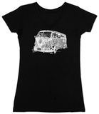 Womans: The 70's V-Neck T-Shirt