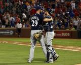 Milwaukee Brewers v Texas Rangers Photo by Rick Yeatts