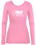 Women's Long Sleeve: Monkey Business T-Shirt