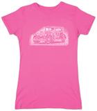 Womens: Mob Car T-Shirt