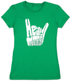 Womans: Heavy Metal T-Shirt