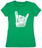 Womens: Heavy Metal T-Shirt