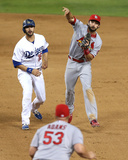 NLCS - St Louis Cardinals v Los Angeles Dodgers Photo by Jeff Gross