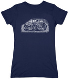 Womans: Mob Car T-Shirt