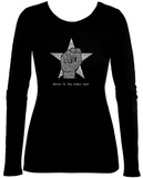 Women's Long Sleeve: Steve Jobs - Here's To The Crazy Ones Shirt