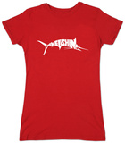 Womans: Marlin - Gone Fishing T-Shirts