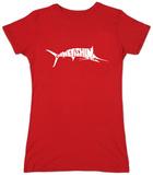 Womens: Marlin - Gone Fishing T-shirts