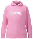 Womens Hoodie: Marlin - Gone Fishing Pullover Hoodie