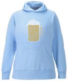 Women's Hoodie: Beer Pullover Hoodie